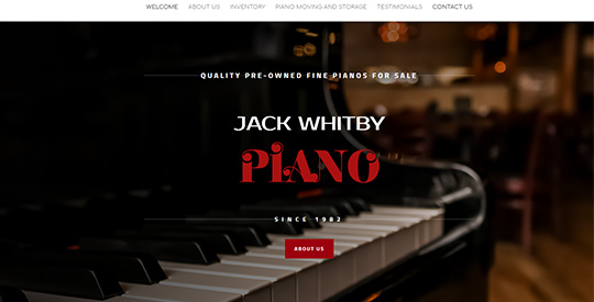 Jack Whitby Piano - Dallas TX