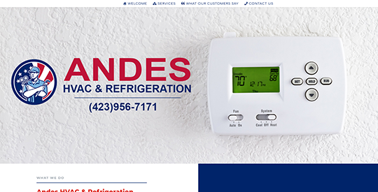 Andes HVAC - Johnson City TN